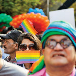 File photo of a gay parade in Mumbai